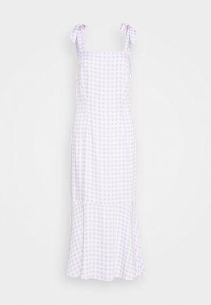 QUEEN OF JETLAGS X NA-KD SHOULDER STRAPS MIDI DRESS - Day dress - lilac