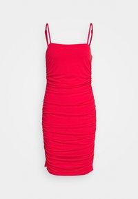 NA-KD - PAMELA REIF X NA-KD THIN STRAP DRESS - Vestito elegante - red - 0