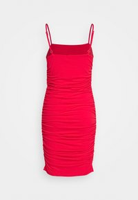 NA-KD - PAMELA REIF X NA-KD THIN STRAP DRESS - Juhlamekko - red - 1