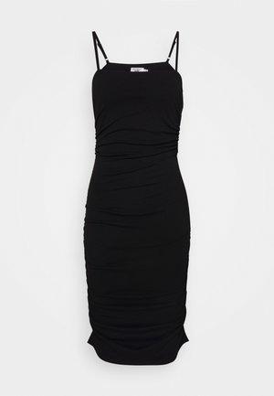PAMELA REIF X NA-KD THIN STRAP DRESS - Cocktailjurk - black