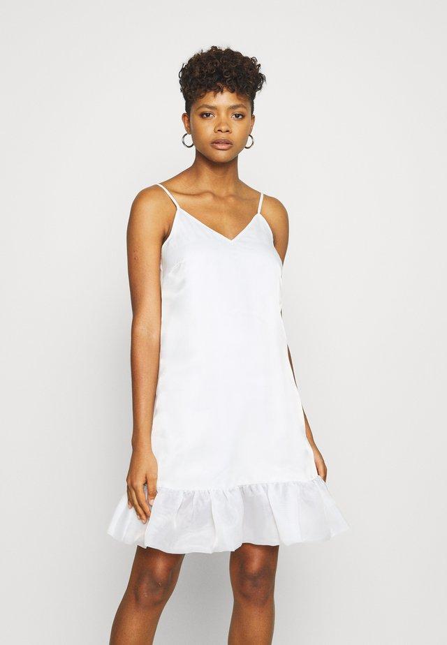 BOTTOM DRESS - Cocktailjurk - white