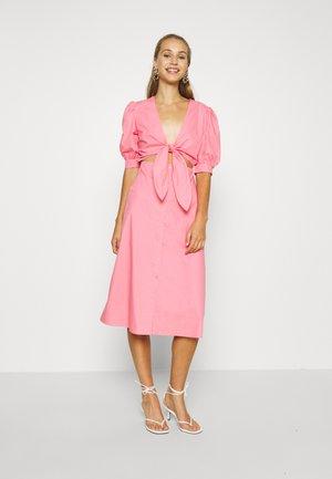HOSS X FRONT TWIST DRESS - Cocktail dress / Party dress - pink