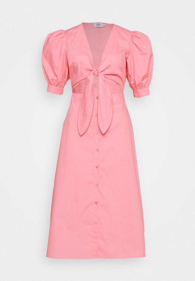 HOSS X FRONT TWIST DRESS - Korte jurk - pink