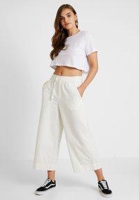 NA-KD - CUPID LOVE TEE - Print T-shirt - white - 1