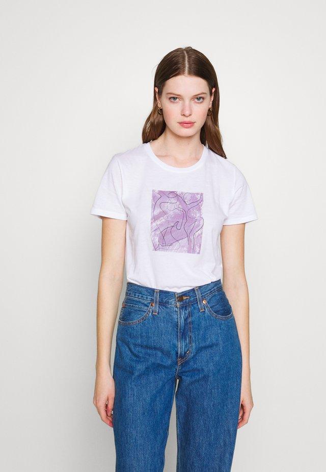 ART BASIC TEE - T-shirts print - white