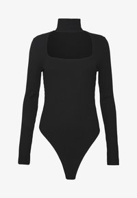 NA-KD - CUT OUT - Long sleeved top - black - 4