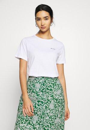 LOGO BASIC TEE - T-shirt print - white