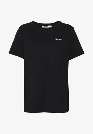 LOGO BASIC TEE - Print T-shirt - black