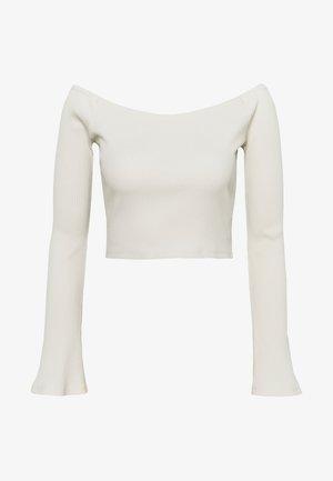 HANNA SCHÖNBERG  X NA-KD - Long sleeved top - beige