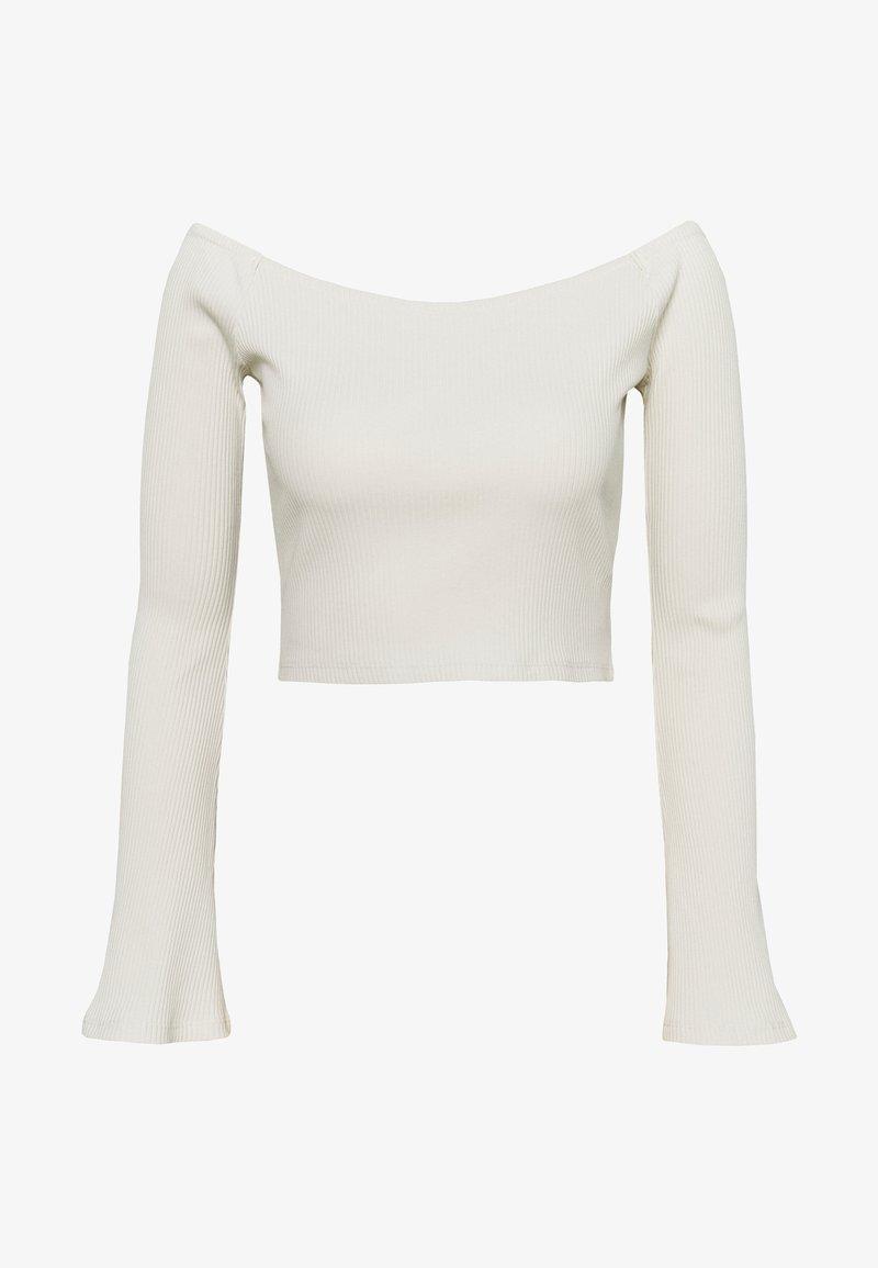 NA-KD - HANNA SCHÖNBERG  X NA-KD - Bluzka z długim rękawem - beige