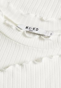 NA-KD - TRUMPET SLEEVE - T-shirt à manches longues - offwhite - 2