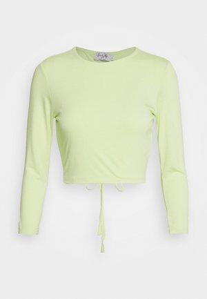 QUEEN OF JATLAGS  X NA-KD - Long sleeved top - pastel green