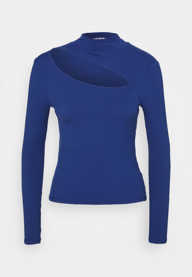 CUT OUT - Långärmad tröja - blue