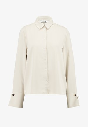 GOLD DETAIL BLOUSE - Camicia - sand