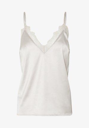 PLAIN SINGLET - Linne - off white