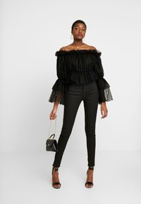 NA-KD - OFF SHOULDER - Blouse - black