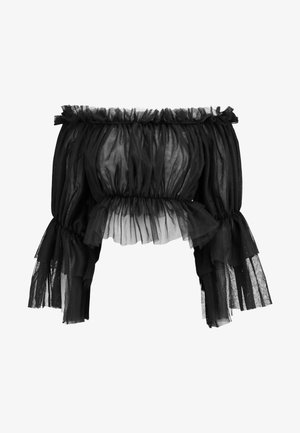 OFF SHOULDER - Bluser - black