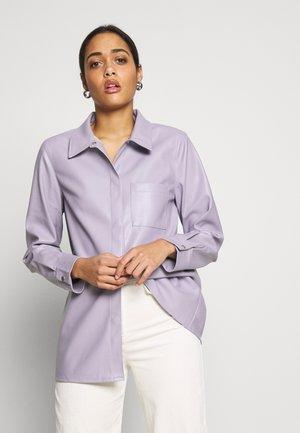 POCKET SHIRT - Skjorte - purple