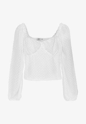 Donna Romina x NA-KD - Blouse - white