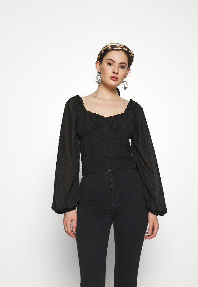 Donna Romina x NA-KD - Bluse - black