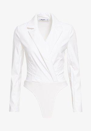 WRAPPED BODY - Blouse - white