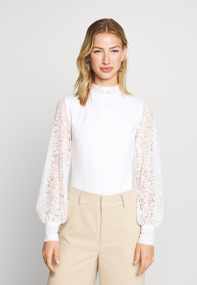 BALLOON SLEEVE - Bluse - white