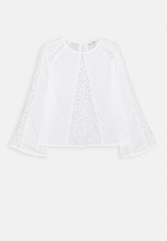 DETAIL BLOUSE - Bluzka - white