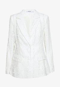 NA-KD - ZALANDO X NA-KD DETAIL BLAZER - Blazer - off white - 6