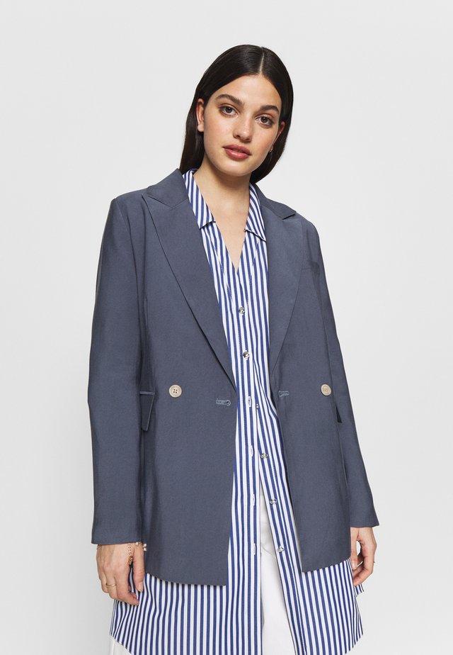 RELAXED - Krátký kabát - blue