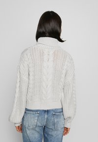NA-KD - CHUNKY CABLE - Pullover - grey - 2
