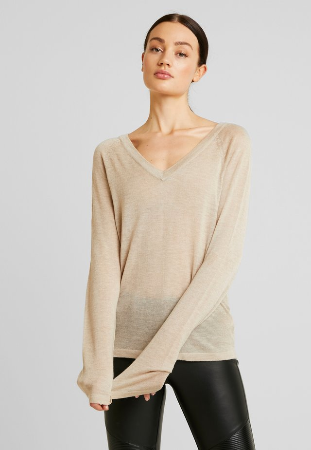 THIN - Sweter - pale mauve