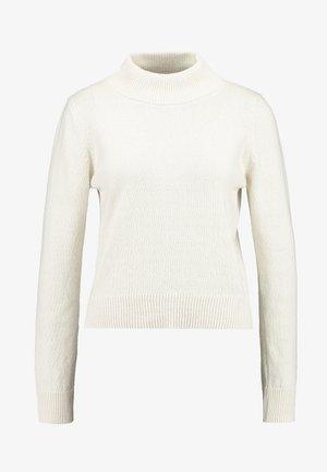 PAMELA REIF HIGH NECK  - Strikkegenser - white