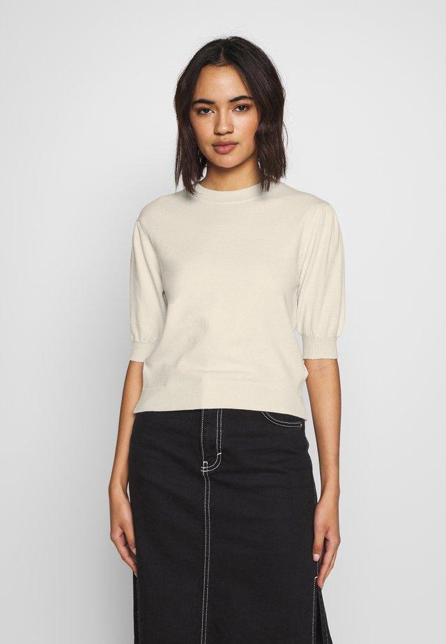T-shirt print - light beige