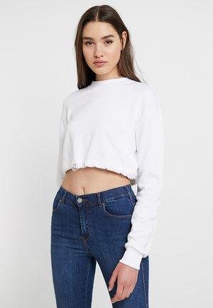IVANA SANTA CRUZ DRAWSTRING - Sweatshirt - white