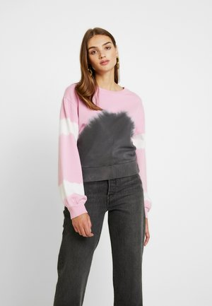 TIE DYE CROPPED - Sweater - pink