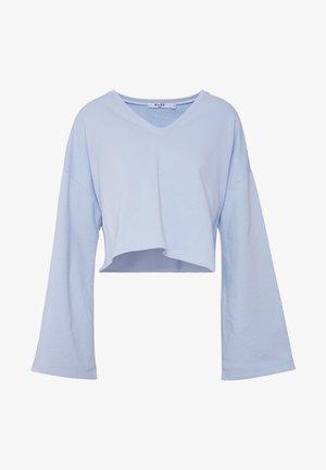 OVERSIZED SWEATER - Sweatshirt - light blue