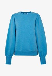 NA-KD - PUFF SLEEVE SPLIT CUFF  - Sweater - blue - 3
