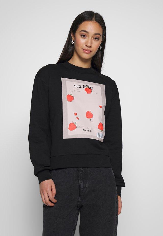 STATE OF ART BASIC - Sweatshirt - black