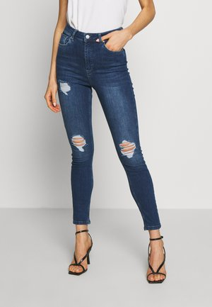 RIPPED - Jeans Skinny Fit - dark blue