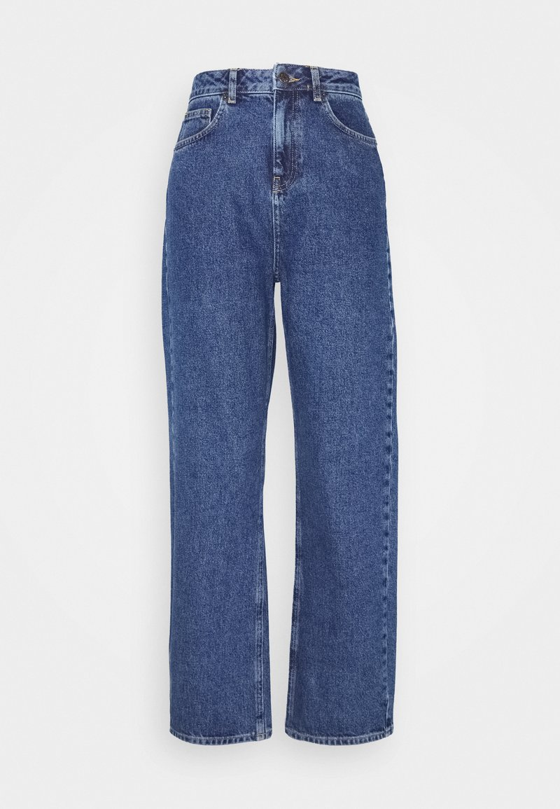 NA-KD - Jeans relaxed fit - mid blue