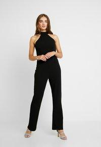NA-KD - HIGH NECK - Tuta jumpsuit - black - 1