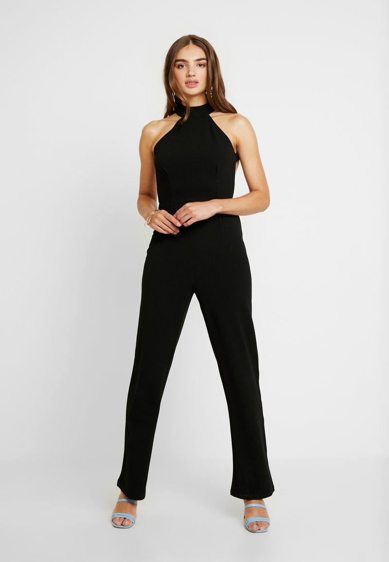 NA-KD - HIGH NECK - Tuta jumpsuit - black