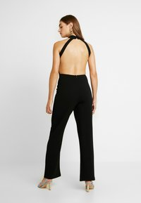 NA-KD - HIGH NECK - Tuta jumpsuit - black - 2