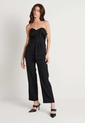 FRONT KNOT DETAIL - Overal - black
