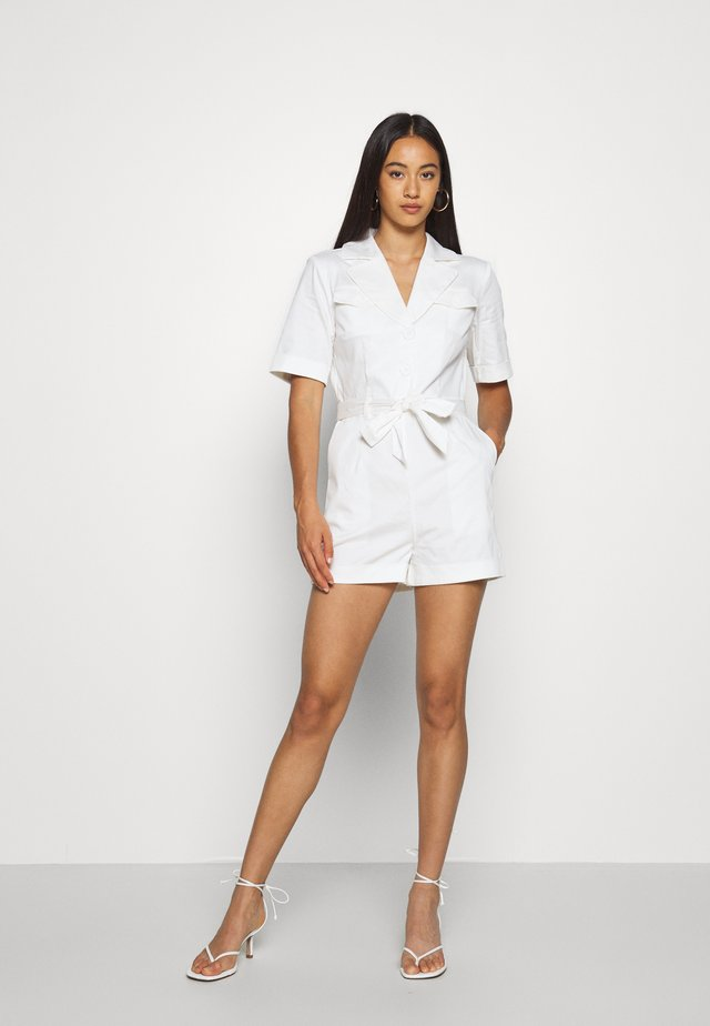HOSS X NA-KD PADDED JUMPSUIT - Jumpsuit - off white