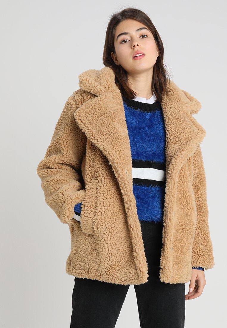 NA-KD - SOFT JACKET - Zimní bunda - light brown