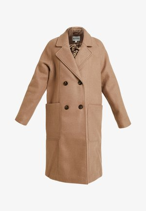 BIG POCKET COAT - Zimní kabát - brown