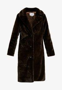 NA-KD - ZALANDO X NA-KD - Zimní kabát - brown - 5
