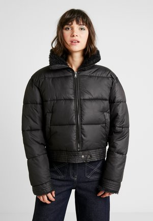 DETAILED PUFFER JACKET - Kurtka zimowa - black