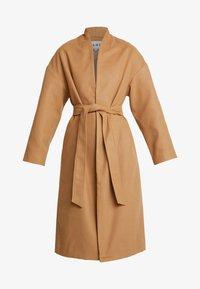 NA-KD - CLASSIC LONG COAT - Zimní kabát - camel - 4